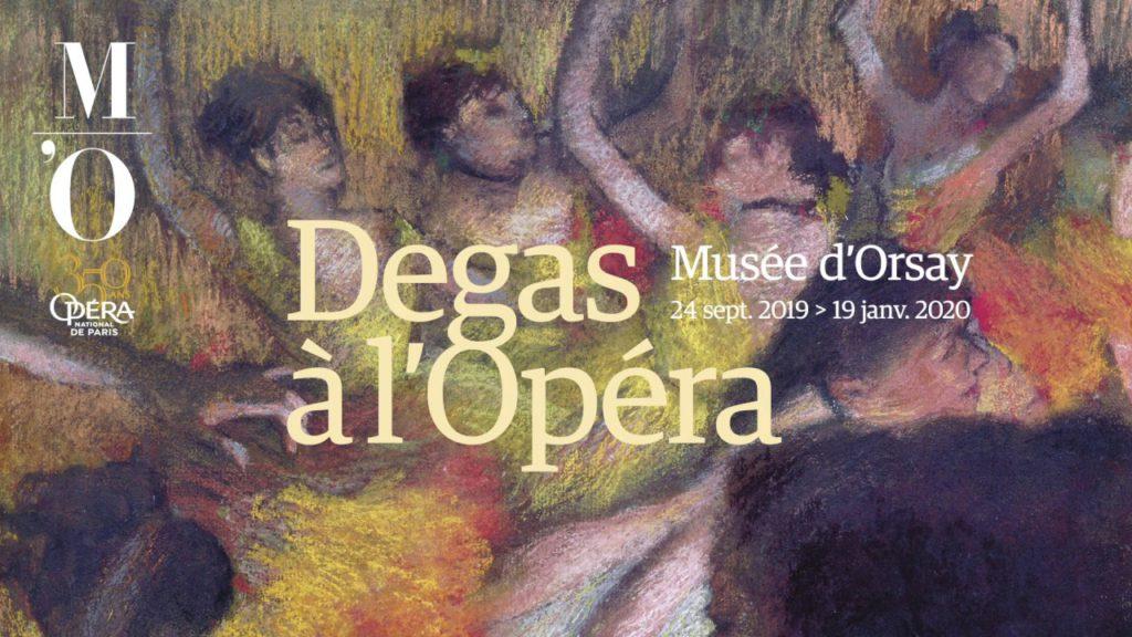 Дега в опере - выставка к 350-летию Парижской оперы