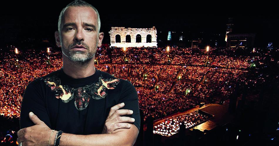 Эрос Рамазотти на Арена ди Верона