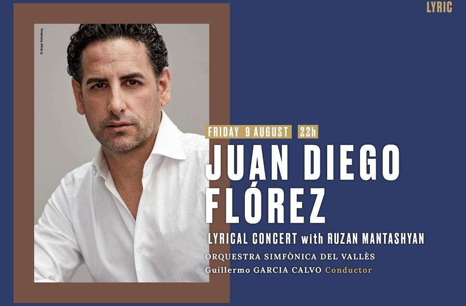 Концерт Хуана Диего Флореса на фестивале Кастель де Пералада