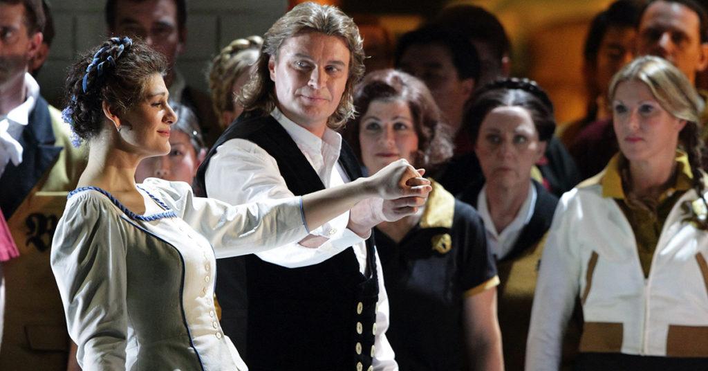 Опера Лоэнгрин в Баварской государственной опере