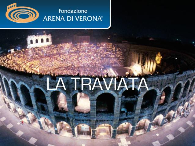 оера Травиата на фестивале Арена ди Верона