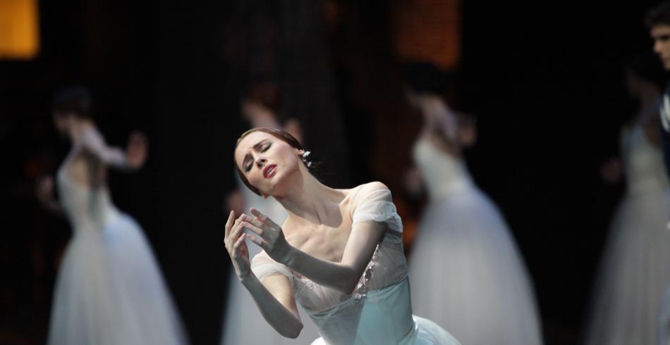 Светлана Захарова в балете Жизель